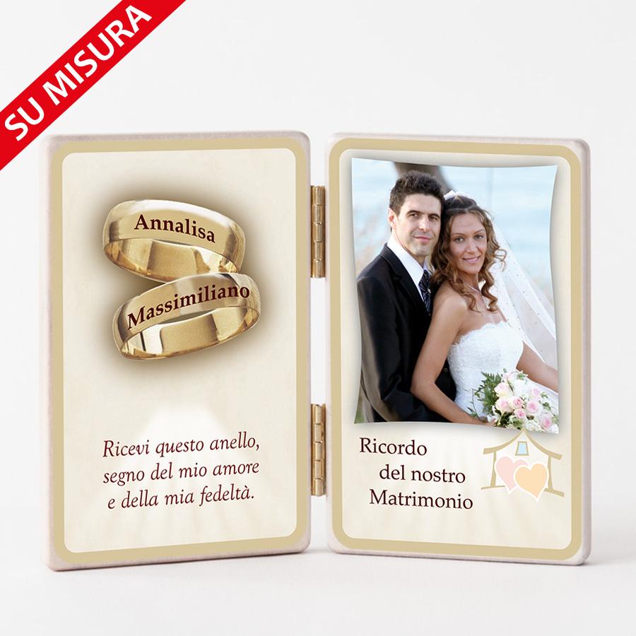 Bomboniere Religiose Matrimonio.Porticina Matrimonio Double Face Bombonieresumisura Com